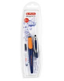 Stilou my.pen Sport albastru inchis/portocaliu Herlitz