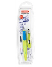 Stilou my.pen Sport lemon/albastru Herlitz