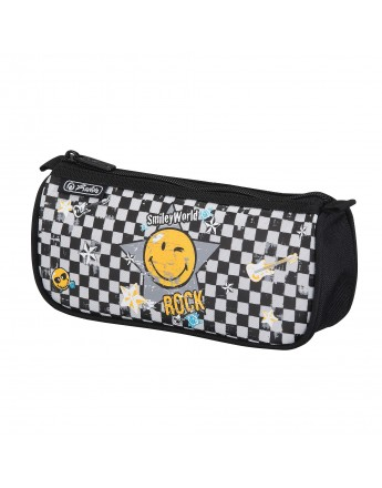 Necessaire triunghiular Smiley World Rock Herlitz