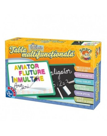 Tabla multifunctionala educativa cu alfabet - D-Toys