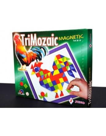 Trimozaic magnetic