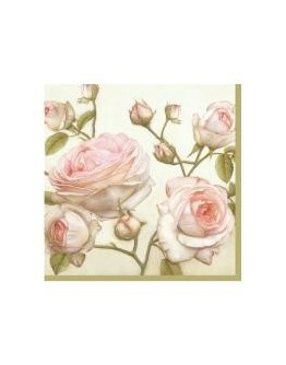 Servetel decorativ Beauty Roses