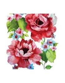 Servetel decorativ Watercolor Roses