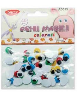 Ochi mobili colorati