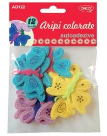 Aripi colorate pasla autoadezive