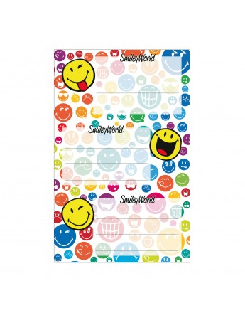 Etichete scolare Smiley Harlitz 9/set