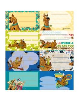 Etichete scolare 40/set, Scooby Doo
