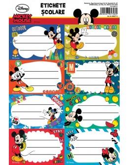 Etichete scolare 40 buc/set, Mickey Mouse