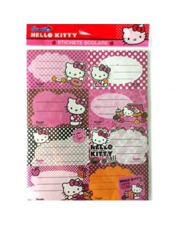Etichete scolare 40 buc/set, Hello Kitty