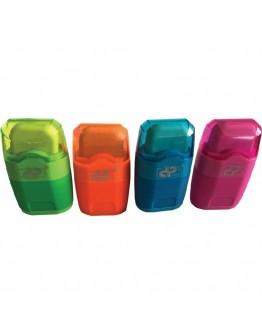 Ascutitoare dubla cu container detasabil si guma de sters DP
