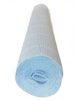 Hartie creponata floristica 180gr. - albastru deschis 559