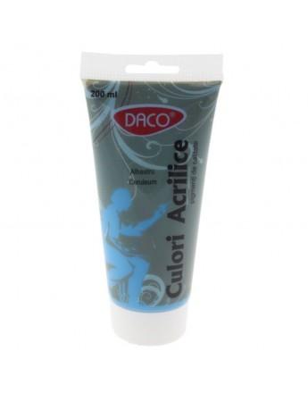 Culori acril 200 ml Albastru Ceruleum DACO