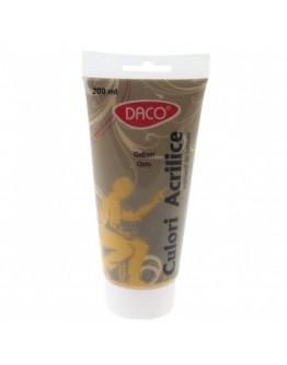 Culori acrilice 200 ml Galben Ocru DACO