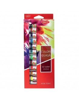 Culori guasa 12 culori DACO