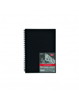 Bloc A4 hartie neagra 140g 30 file DACO