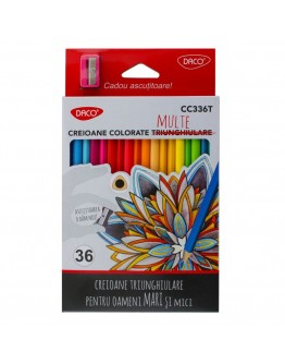 Creion color 36 DACO