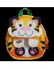 Ghiozdan gradinita tigru DACO 26 cm