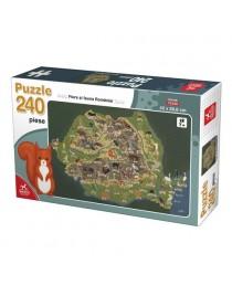 PUZZLE FLORA SI FAUNA ROMANIEI 240 PCS