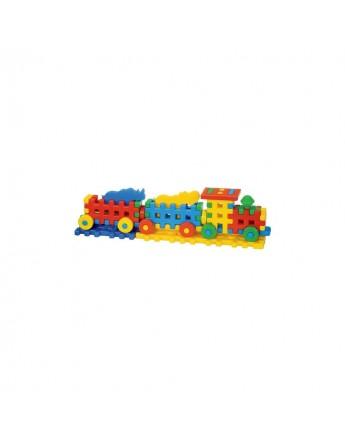Cuburi Constructii-- Locomotiva
