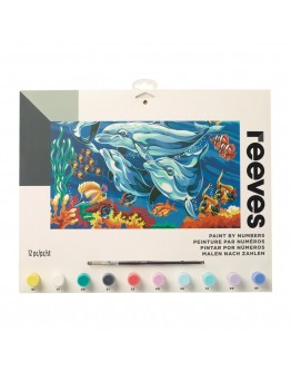 Pictura pe numere Dolphins Reeves