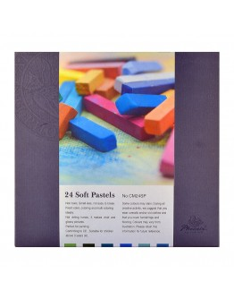 Set 24 pastel cretat moale Phoenix