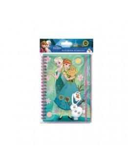 Jurnal Disney Frozen A5 cu elastic