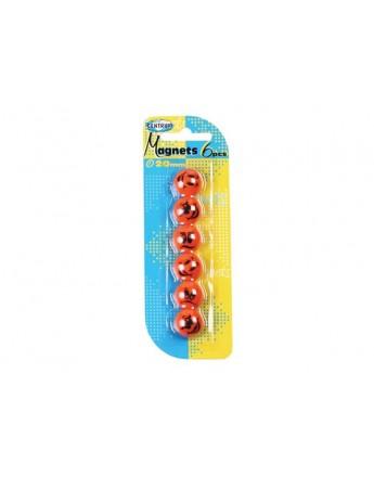 Magneti SMILE - diametru 20 mm - 6 buc / blister