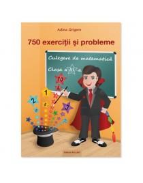 750 exerciţii şi probleme. Culegere de matematică clasa a III-a