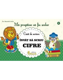 CAIET DE SCRIERE Invat sa scriu CIFRE
