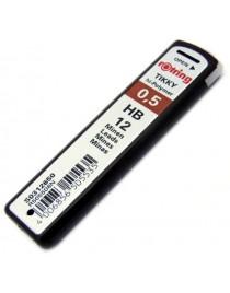 Mina creion HB Rotring 0.5mm
