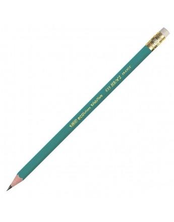 Creion BIC Evolution 655 HB cu radiera
