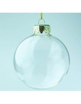Glob din sticla 8cm