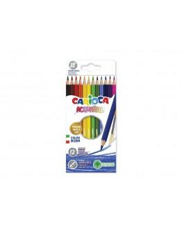 Creioane color Acuarella Herlitz set 12 bucati+penson