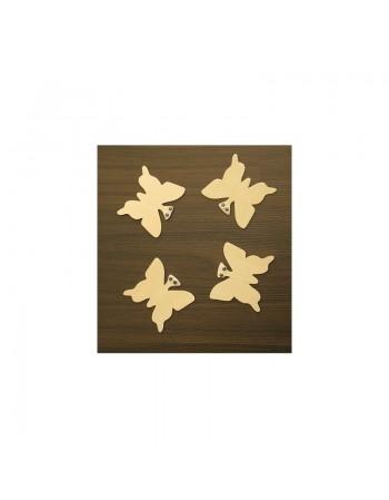 Fluturi din lemn
