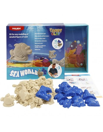 Set Nisip Kinetic ® Sea world Herlitz
