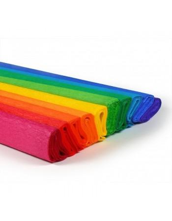 Hartie creponata Daco 10 culori /set