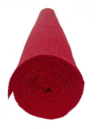 Hartie creponata floristica 180gr. - rosu 589