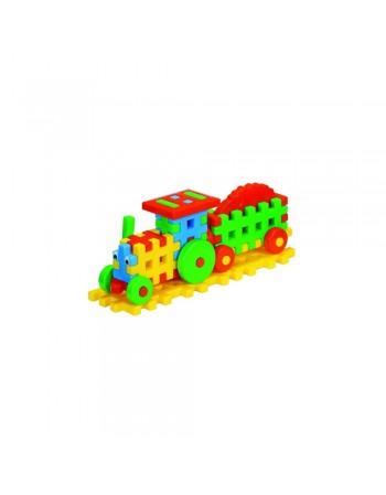 Cuburi Constructii--Tractor