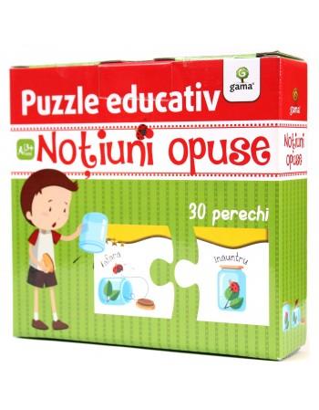 PUZZLE EDUCATIV  -Noțiuni opuse