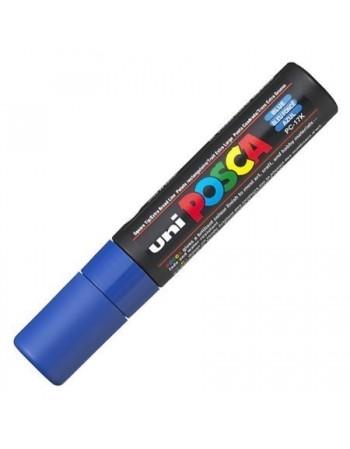 Marker UNI PC-17K Posca 15,0 mm varf tesit albastru