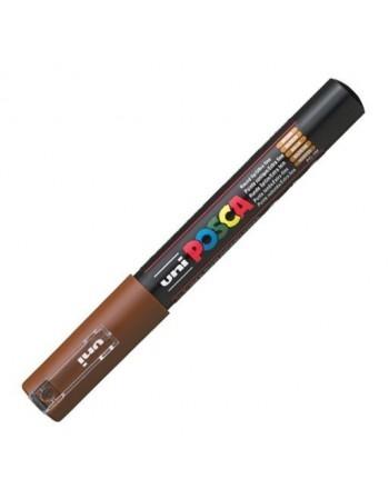 Marker UNI PC-1M Posca 0,7 mm maro