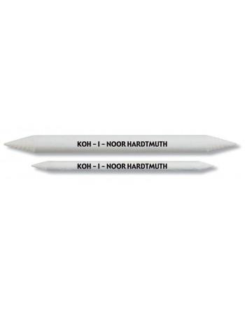 ESTOMPA - Creion alb 7 x 120mm - 2 buc/set