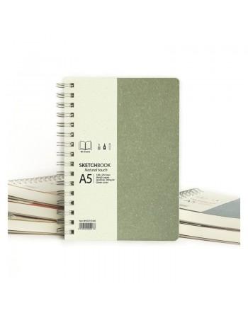 Sketchbook spira Natural Touch 80 file Drasca A5