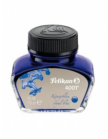 Cerneala 4001, calimara, 30 ml, albastru royal, Pelikan