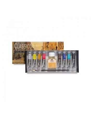 Set culori ulei Classico Maimeri 8x20ml
