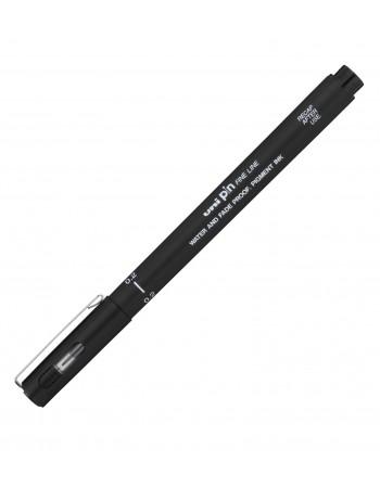 Liner UNI PIN02-200S, 0.2mm, negru