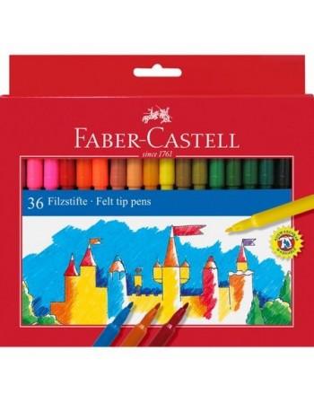 Set 36 Carioci colorate Faber-Castell