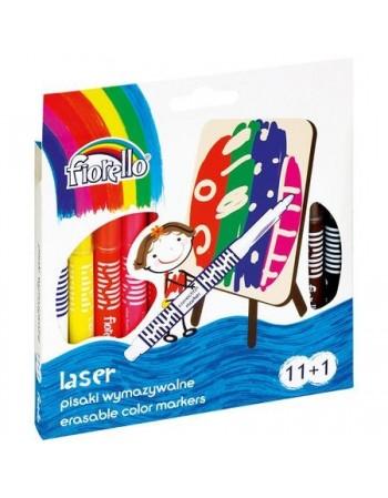 Carioca laser cu 11 culori +1 Fiorello