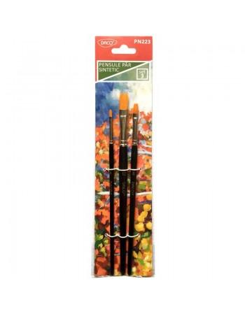 Pensula set 3 par sintetic...