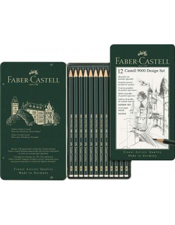 Creioane grafit Castell...